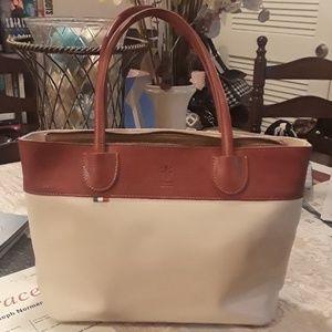 Vera Pelle Italian Leather Satchel